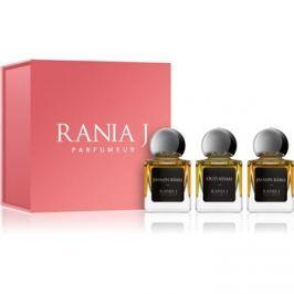 Rania J. Priveé Rubis Collection dárková sada II.  parfémovaná voda 3 x 5 ml