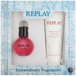 Replay Essential dárková sada I. toaletní voda 20 ml + tělové mléko 100 ml