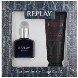 Replay Essential dárková sada II.  toaletní voda 30 ml + sprchový gel 100 ml
