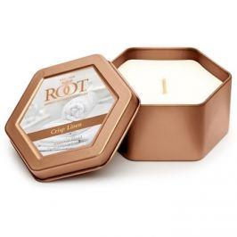 Root Candles Crisp Linen vonná svíčka 113 g v plechovce