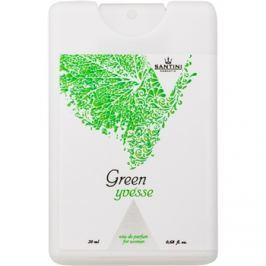 SANTINI Cosmetic Green Yvésse parfémovaná voda pro ženy 20 ml cestovní balení