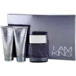 Sean John I Am King dárková sada II. toaletní voda 100 ml + sprchový gel 100 ml + balzám po holení 100 ml