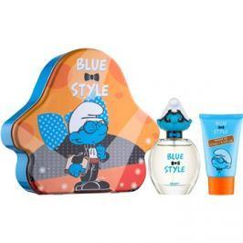 The Smurfs Blue Style Brainy dárková sada II.  toaletní voda 50 ml + sprchový gel 75 ml