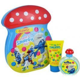 The Smurfs Clumsy dárková sada I. toaletní voda 50 ml + pěna do koupele 75 ml