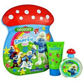 The Smurfs Grouchy dárková sada I. toaletní voda 50 ml + pěna do koupele 75 ml