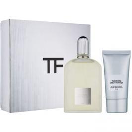 Tom Ford Grey Vetiver dárková sada II.  parfémovaná voda 100 ml + balzám po holení 75 ml