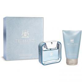 Trussardi Blue Land dárková sada I.  toaletní voda 50 ml + šampon a sprchový gel 100 ml