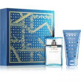 Versace Man Eau Fraîche dárková sada VII.  toaletní voda 30 ml + sprchový a koupelový gel 50 ml