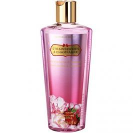 Victoria's Secret Strawberry & Champagne sprchový gel pro ženy 250 ml