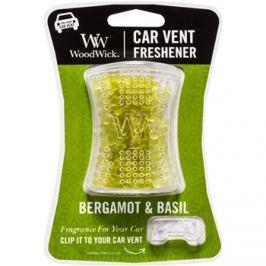 Woodwick Bergamot & Basil vůně do auta   clip