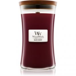 Woodwick Black Cherry vonná svíčka 609,5 g velká