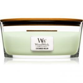 Woodwick Cucumber Melon vonná svíčka 453,6 g Hearthwick