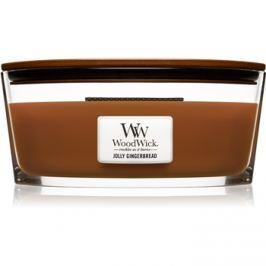 Woodwick Jolly Gingerbread vonná svíčka 453,6 g Hearthwick