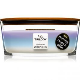 Woodwick Trilogy Calming Retreat vonná svíčka 453,6 g Hearthwick