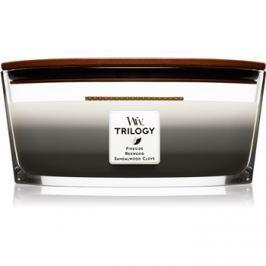 Woodwick Trilogy Warm Woods vonná svíčka 453,6 g Hearthwick