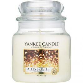 Yankee Candle All is Bright vonná svíčka 411 g Classic střední