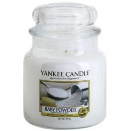 Yankee Candle Baby Powder vonná svíčka 411 g Classic střední