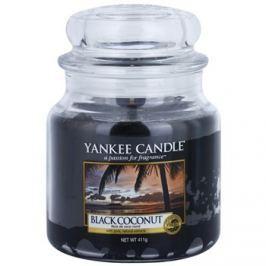 Yankee Candle Black Coconut vonná svíčka 411 g Classic střední