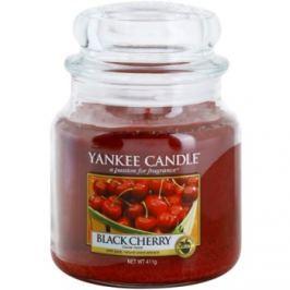 Yankee Candle Black Cherry vonná svíčka 411 g Classic střední