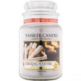 Yankee Candle Crackling Wood Fire vonná svíčka 623 g Classic velká