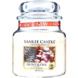 Yankee Candle Ebony & Oak vonná svíčka 411 g Classic střední