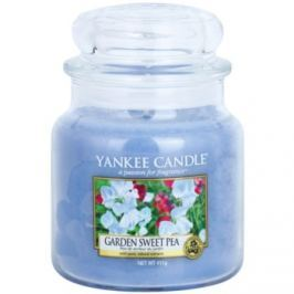 Yankee Candle Garden Sweet Pea vonná svíčka 411 g Classic střední