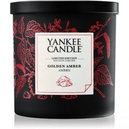 Yankee Candle Golden Amber vonná svíčka 198 g malá