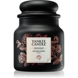 Yankee Candle Golden Rose vonná svíčka 410 g střední