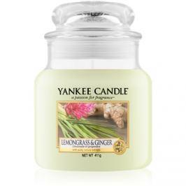 Yankee Candle Lemongrass & Ginger vonná svíčka 411 g Classic střední