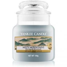 Yankee Candle Misty Mountains vonná svíčka 104 g Classic malá
