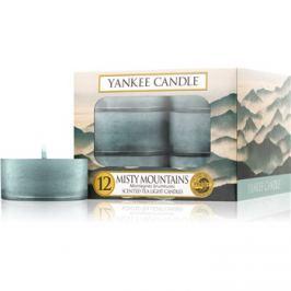 Yankee Candle Misty Mountains čajová svíčka 12 x 9,8 g