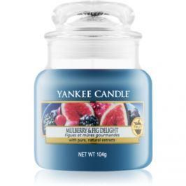 Yankee Candle Mulberry & Fig vonná svíčka 104 g Classic malá