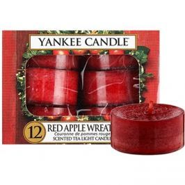 Yankee Candle Red Apple Wreath čajová svíčka 12 x 9,8 g