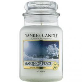 Yankee Candle Season of Peace vonná svíčka 623 g Classic velká