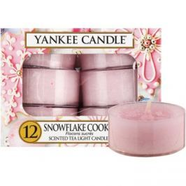 Yankee Candle Snowflake Cookie čajová svíčka 12 x 9,8 g