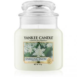 Yankee Candle Sparkling Snow vonná svíčka 411 g Classic střední