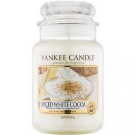 Yankee Candle Spiced White Cocoa vonná svíčka 623 g Classic velká