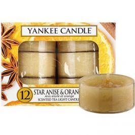 Yankee Candle Star Anise & Orange čajová svíčka 12 x 9,8 g