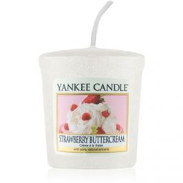 Yankee Candle Strawberry Buttercream votivní svíčka 49 g