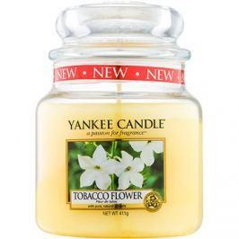 Yankee Candle Tobacco Flower vonná svíčka 411 g Classic střední