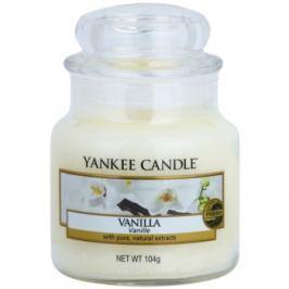 Yankee Candle Vanilla vonná svíčka 104 g Classic malá