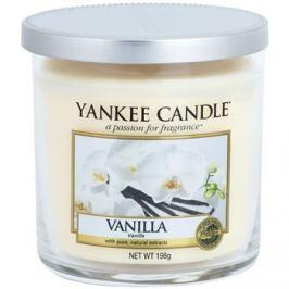 Yankee Candle Vanilla vonná svíčka 198 g Décor malá
