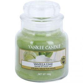 Yankee Candle Vanilla Lime vonná svíčka 104 g Classic malá