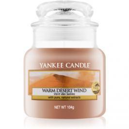 Yankee Candle Warm Desert Wind vonná svíčka 104 g Classic malá