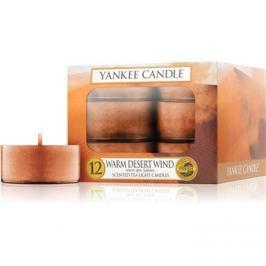 Yankee Candle Warm Desert Wind čajová svíčka 12 x 9,8 g