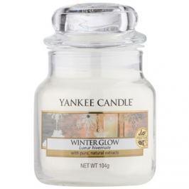 Yankee Candle Winter Glow vonná svíčka 104 g Classic malá