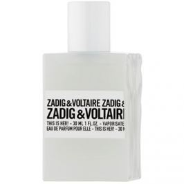 Zadig & Voltaire This Is Her! parfémovaná voda pro ženy 30 ml