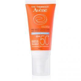 Avène Sun Sensitive emulze na opalování bez parfemace SPF50+  50 ml