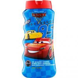 EP Line Cars 3 pěna do koupele a šampon 2v1 pro děti  475 ml