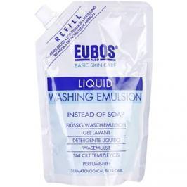 Eubos Basic Skin Care Blue mycí emulze bez parfemace náhradní náplň  400 ml